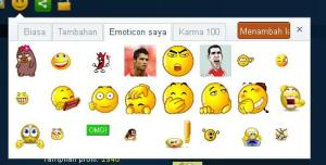 emoticon saya, plurk